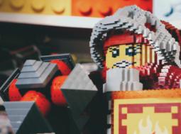 Lego at Rheged