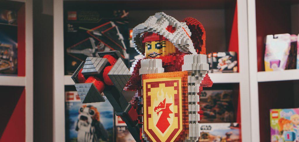 LEGO at the Rheged shop