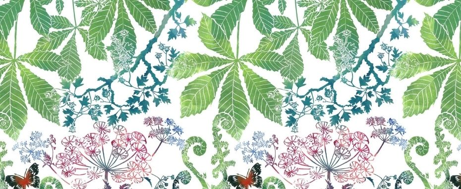 Create Botanical Prints in Full Colour. Linocut for beginners with Laura Sowerby
