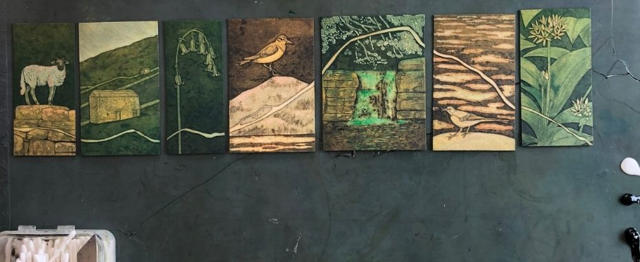 Introduction to Collagraph Printmaking with Hester Cox